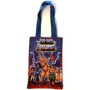 80's He-man masters the universe cartoon tote bag